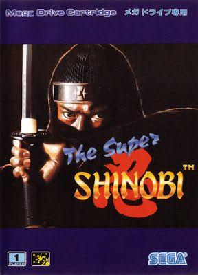 De Volta Aos Anos 80 e 90 : The Revenge Of Shinobi OST - [1989] Sega Genesis]