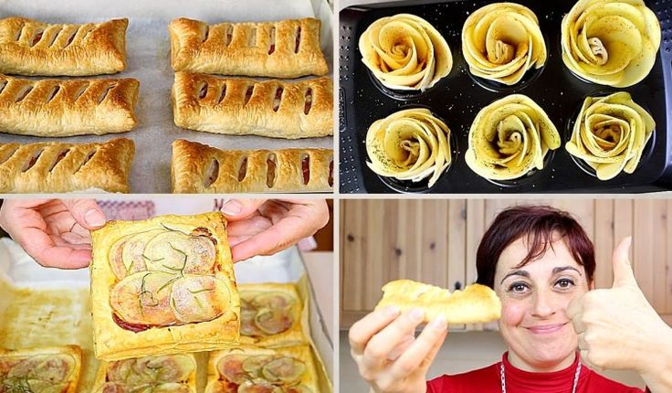3 Ricette con Patate e Pasta Sfoglia – 3 idee facili e veloci