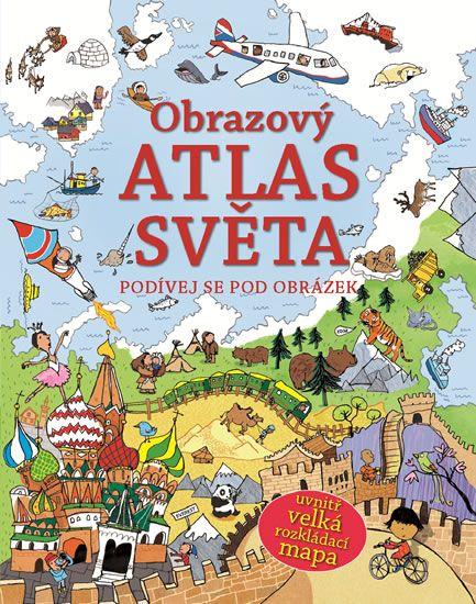 Kniha Obrazový atlas světa - Podívej se pod obrázek   bux.cz