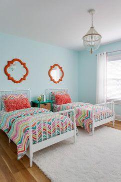 Girls Bedroom - transitional - Kids - New York - AHR Designs