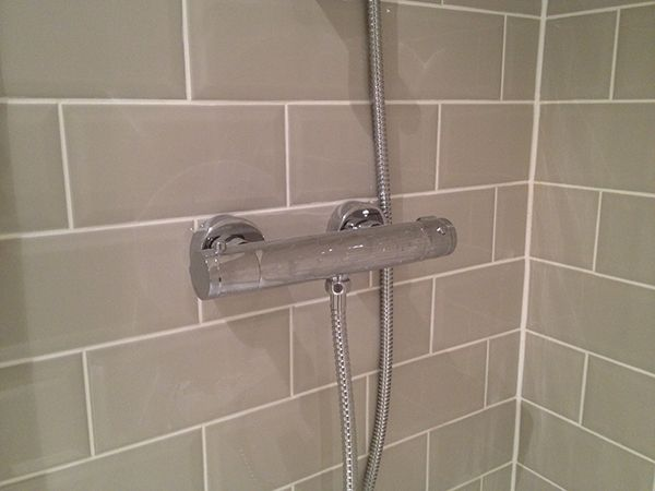 Images Photos Fitting a Bar Mixer Shower Pipework in a Stud Wall by UK Bathroom Guru