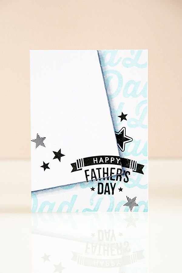 Yana Smakula - Father's Day Card using stamps from Simon Says Stamp