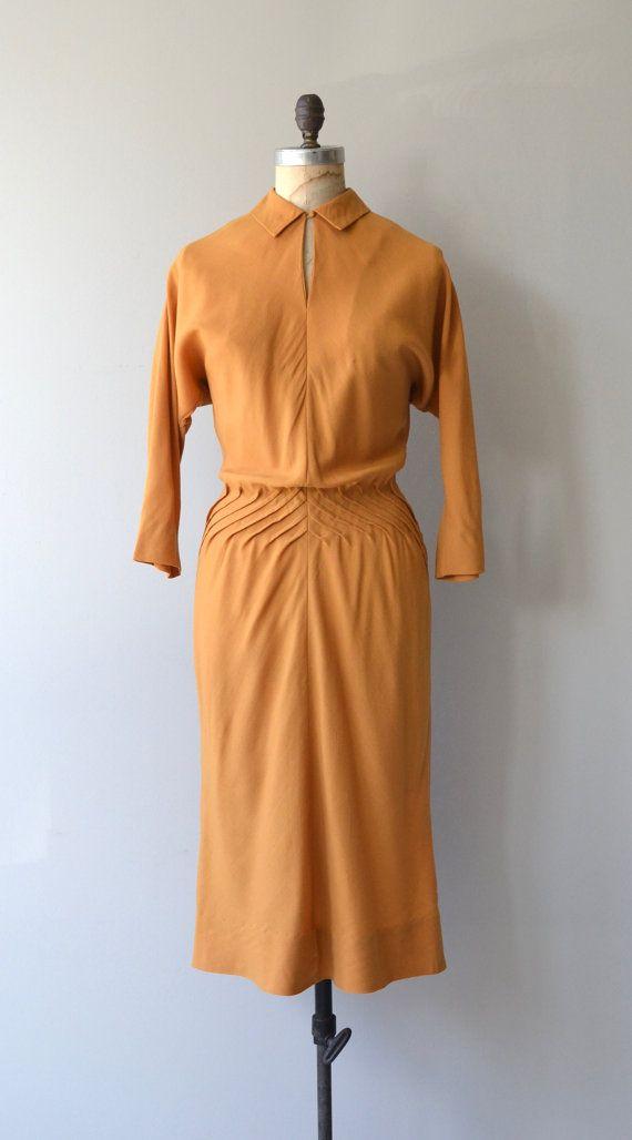 Robe Claire McCardell robe vintage des années 1950 par DearGolden