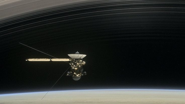 Cassini: NASA, Spectacular end is nigh for space probe. Cassini: NASA, Spectacular end is nigh for space probe.  Last week, the US space probe Cassini survived a meeting of the very close - and riskier - type. In response to signals that had been transmitted through several hundred million miles of space...  #CassiniSaturn #Saturn #Cassini #Saturn #NASA #space #Titan #Saturno #Enceladus #science #moon #spacecraft #Earth