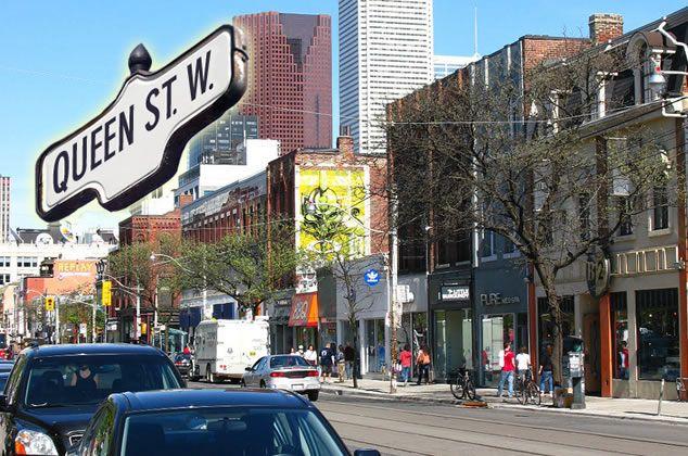 QUEEN STREET WEST TORONTO - Google Search