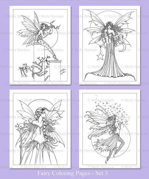 PRINTABLE Fairies Set 3