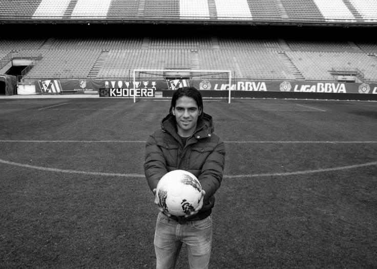 Radamel Falcao García  Futbolista  Llega a España en 2011
