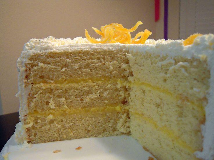 Lemon Cake Recipes On Pinterest: Triple Lemon Chiffon Cake