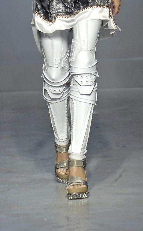 Robot(?) leggings by BALENCIAGA.