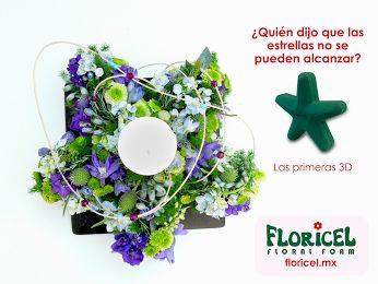Floricel Espumas florales (Floral foam): Google+ Figuras de espuma floral. Fuimos los primeros en ofrecerte el concepto 3D. Somos FLORICEL. #arreglofloral #espumafloral #floralfoam #wetfoam