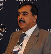 The Prime Minister of Pakistan   is the Head of Government of Pakistan who is designated to exercise as the country's Chief Executive. By the Constitution of Pakistan, Pakistan has the parliamentary democratic system of government. The current Prime minister of Pakistan is Yousaf Raza Gillani of Pakistan Peoples Party. He successively completed 4 years of premiership on 25th March, 2012, and thus became the longest serving prime minister in the history of Pakistan.