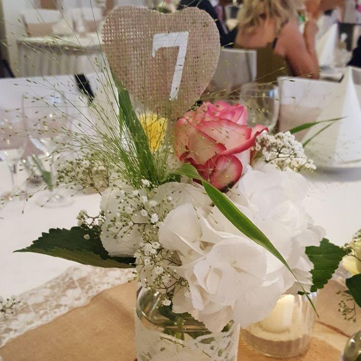 DIY Hochzeit Tischschilder