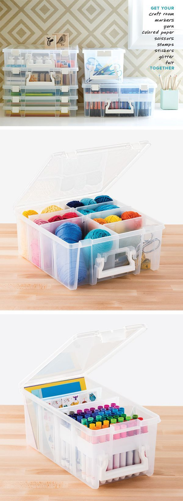 Calling all perfectionists! Our ArtBin Super Satchel Collection is the ideal way to organize all your craft and art supplies.