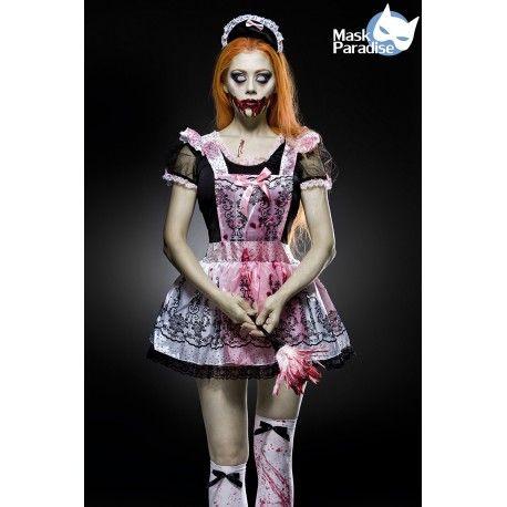 Horror Maid Kostüm Komplettset