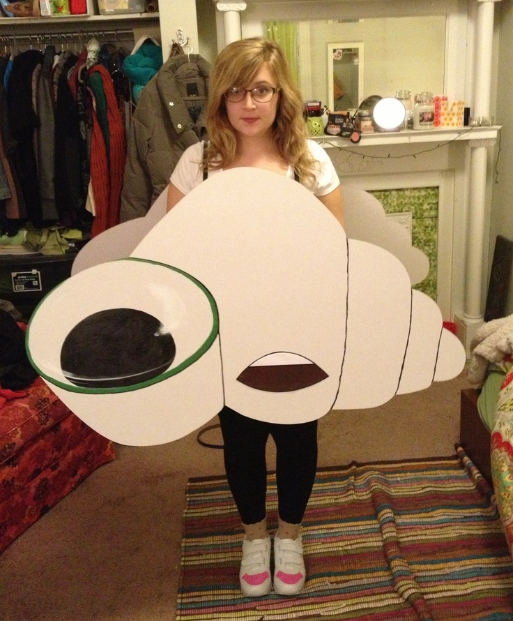 My Marcel the Shell costume!