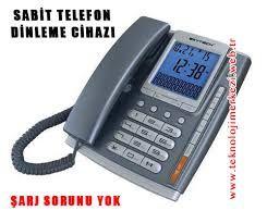 Sabit Telefon Ortam Dinleme Cihazı