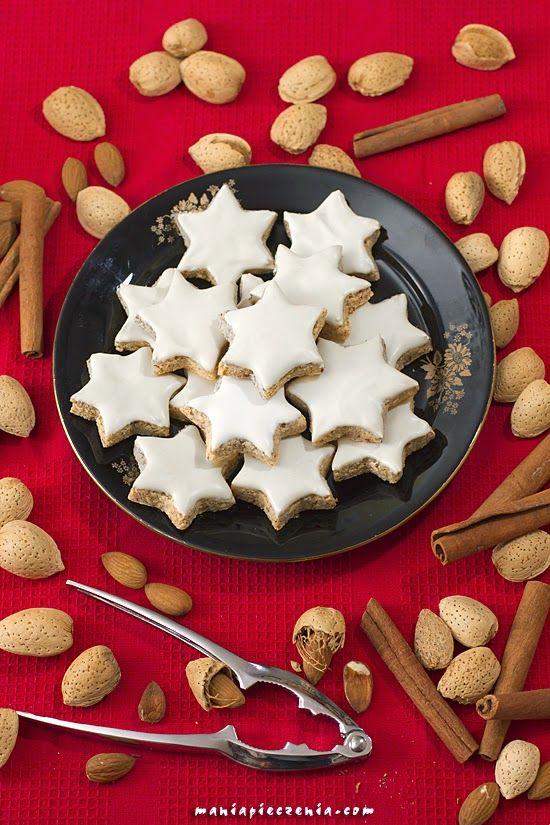Zimtsterne - niemieckie bezglutenowe gwiazdki / German Gluten Free Christmas Stars