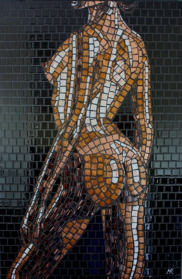 Mosaic woman's body!