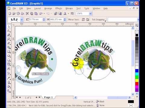 logo corel draw