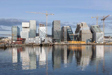 Barcode project / Dark Arkitekter, A-Lab, MVRDV / Bjørvika - Oslo - Norway