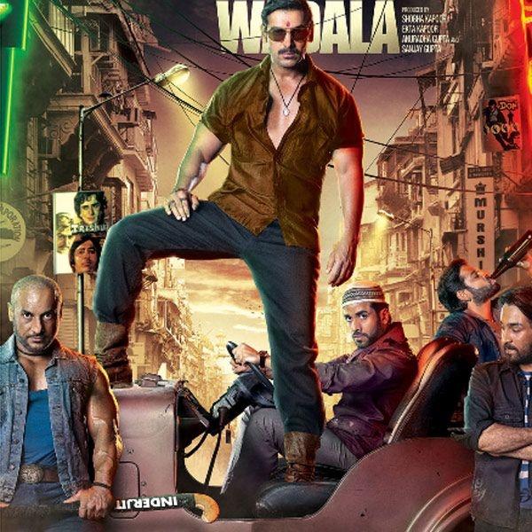John Abraham in a poster from the Bollywood movie Shootout At Wadala.