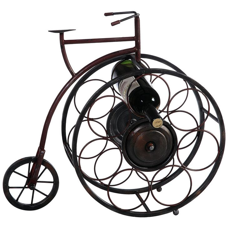 Penny Farthing Bicycle Wine Rack Pennies Search And Wine Racks