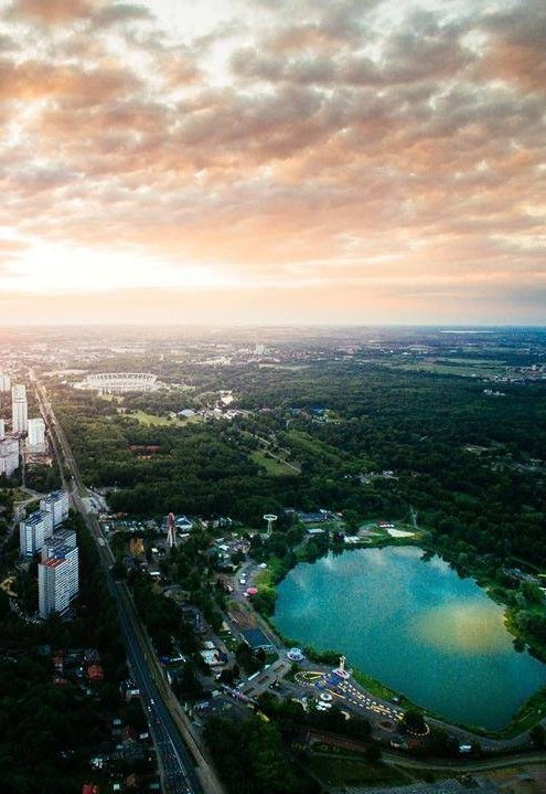 Katowice City, S Poland