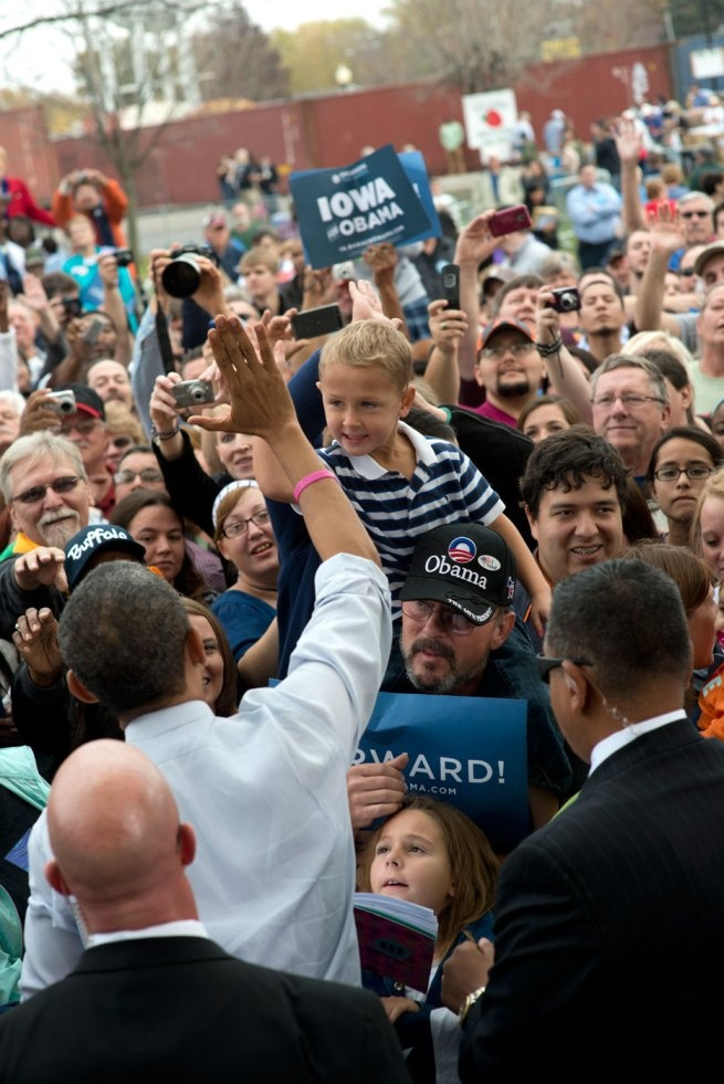 A Photo Or Two … Davenport to Denver « The Obama Diary