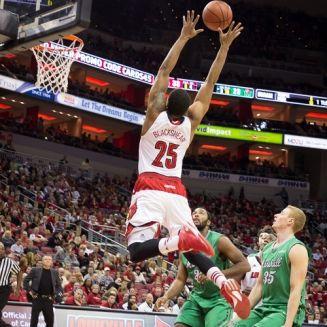 Louisville Basketball Thunders Over Marshall 85-67