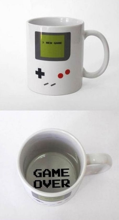 Nintendo Mug... could use this...  See More at https://www.facebook.com/iloveoldschoolgames