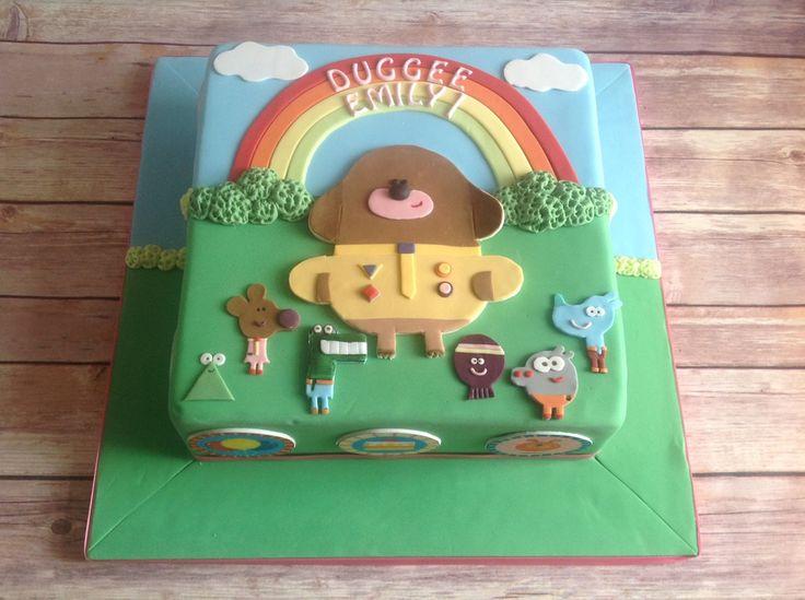 A cake done to a TV cartoon series...