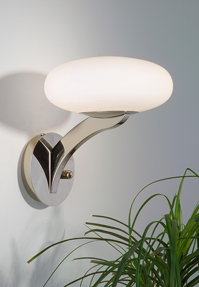 Halogen Wall Sconce by Holtkotter