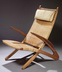 Sjælden Wegner stol fundet