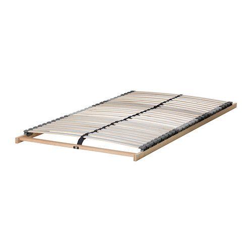 IKEA - LÖNSET, Federholzrahmen, 80x200 cm, , 28 Federhölzer aus schichtverleimter Birke passen sich dem Körpergewicht an und verstärken die Flexibilität der Matratze.Komfortzonen verteilen das Körpergewicht gleichmäßig auf die gesamte Liegefläche.