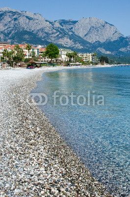 Mediterranean coast of Turkey. Kemer beach. Antalya