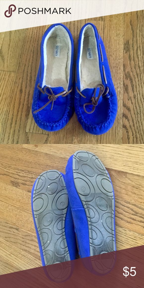 Old Navy slippers like new condition! Old Navy Shoes Moccasins