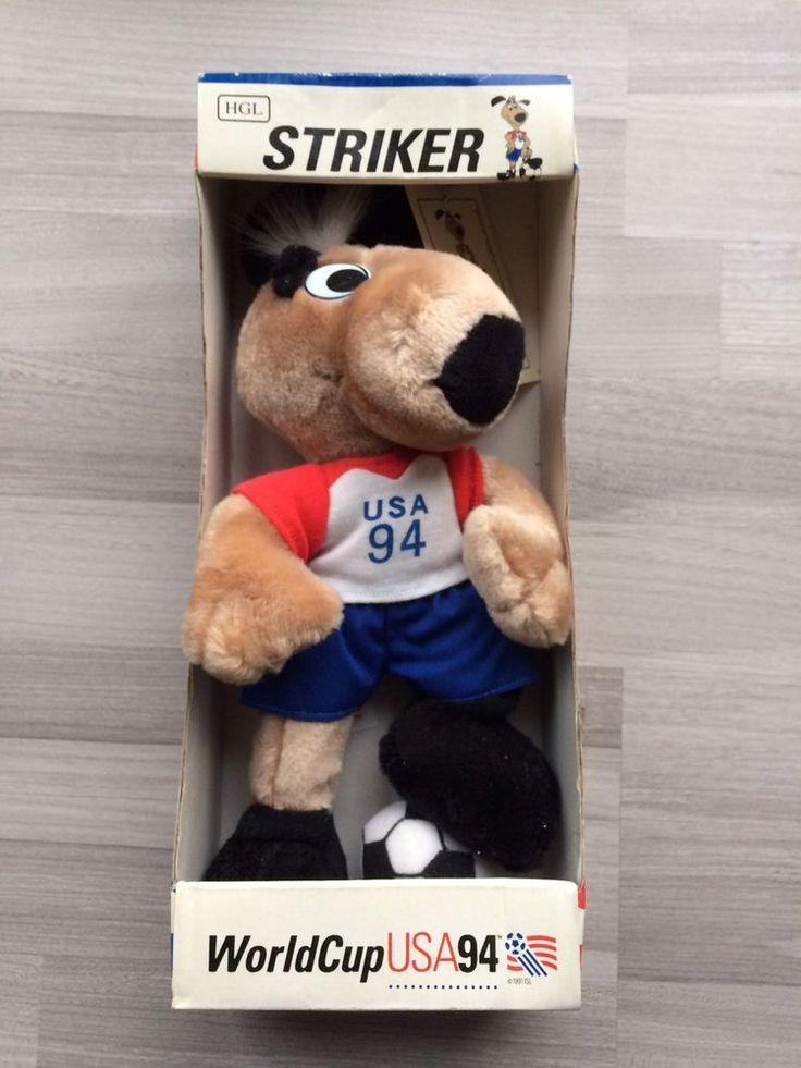 WM 1994 Worldcup USA Maskottchen Striker + original Coca-Cola Glas unbenutzt !  | eBay