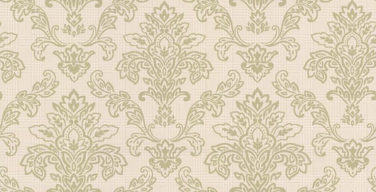 Dogtooth Damask Green wallpaper by Albany