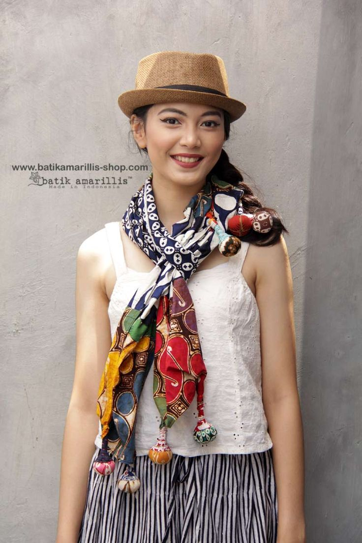 Batik Amarillis made in Indonesia www.batikamarillis-shop.com  Batik Amarillis's Signature Lollies shawl is back at Batik Amarillis webstore www.batikamarillis-shop..com , such a versatile accessory which you can style it in SO MANY WAYS!!
