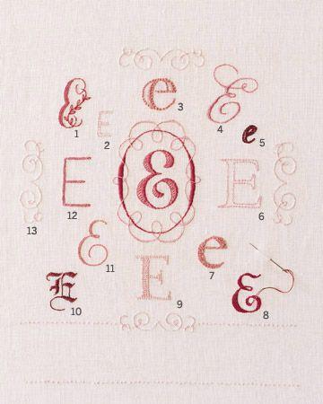 Monogram inspiration. Wedding gift?