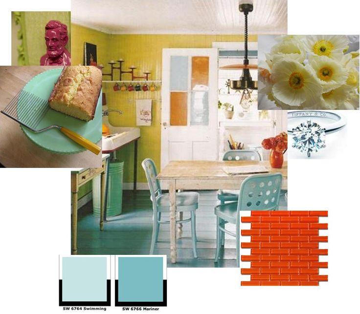 Yellow And Orange Kitchen: Best 25+ Blue Yellow Kitchens Ideas On Pinterest