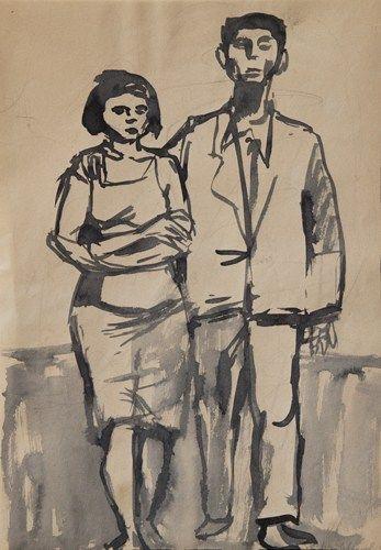 Andrzej Wróblewski, Mąż i żona