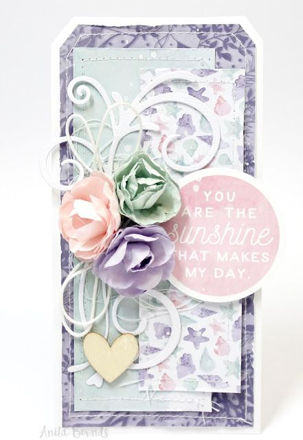 Card Tutorial With Anita Bownds – Kaisercraft Mermaid Tails
