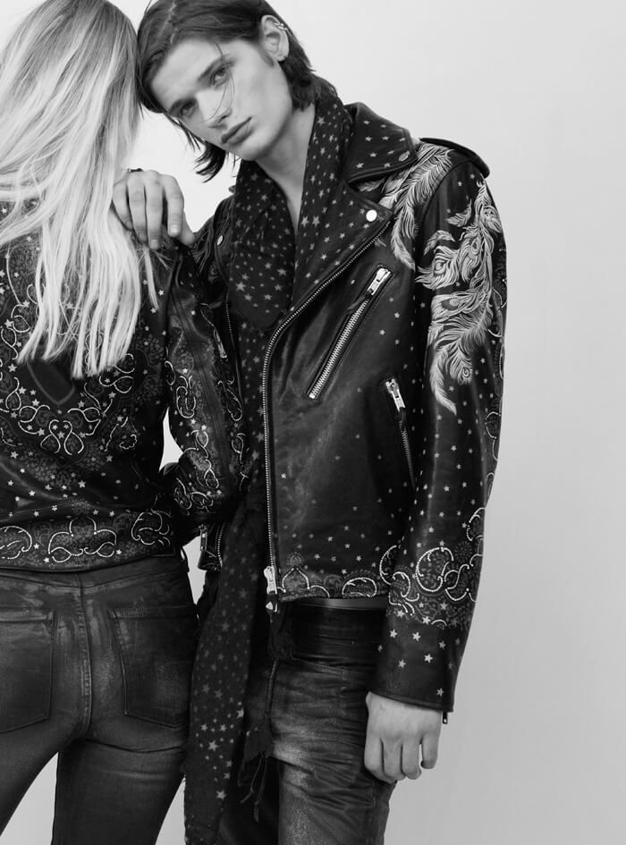 // Rock 'N' Love - The new HTC Los Angeles Fall/Winter 2016-17 Collection // Discover more on our official website #htclosangeles #hollywoodtradingcompany #fall #winter #collection #men #woman #apparel #fashion #style #leather #jackets #accessories