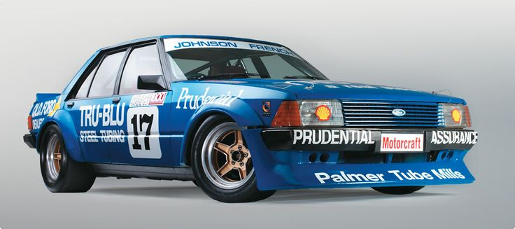 """Dick Johnson's"", Australian 1980 Ford XD Falcon Tru Blu 351 V-8 Sedan. v@e."