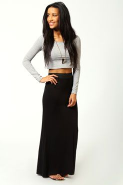 I love anything long and comfortable! This is cheap too 16 bucks not bad for a maxi skirt!