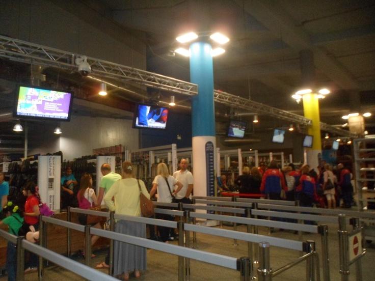 De ingang van Ski Dubai #NHTV #3MTT