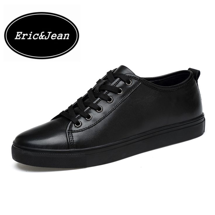 >> Click to Buy << Eric&Jean Fashion Shoes For Mens Casual Shoes Genuine Leather Men Low Breathable comfortable Shoes plus size 35-48 #Affiliate