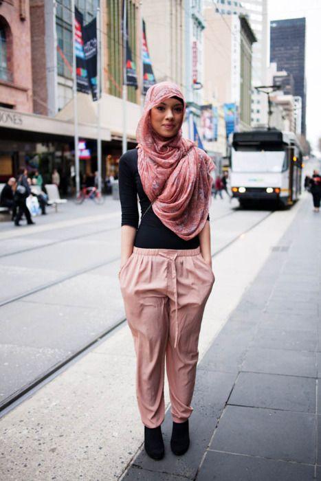 Hijab Street Style Fashion