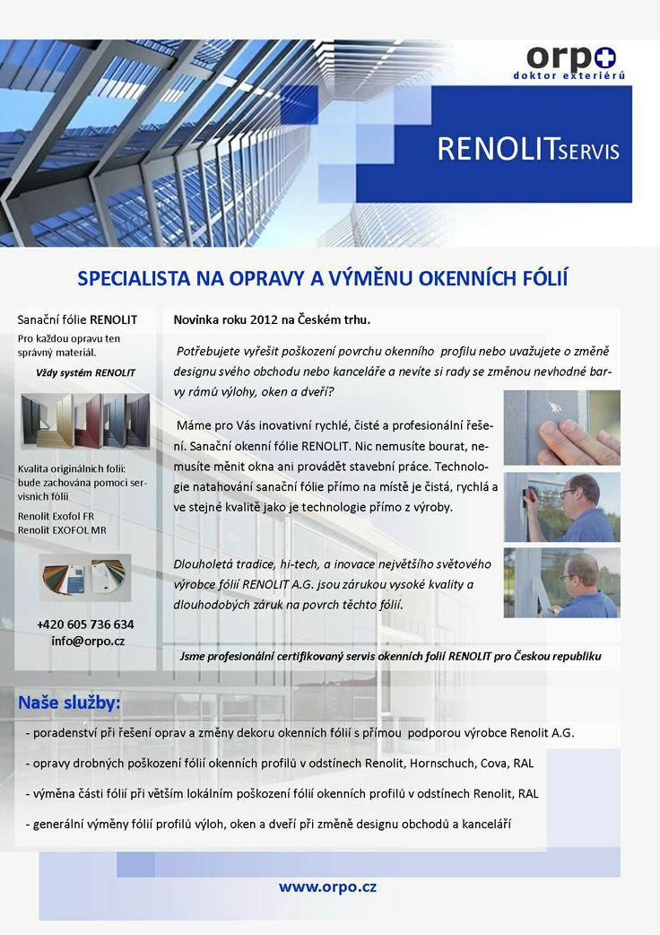 Informace o opravě poškozených fólií RENOLIT pomocí sanační fólie. #oprava, #dveře, #zárubně, #obložky, #repair, #Instandsetzung, #Reparatur, #okna, #fólie, #Renolit